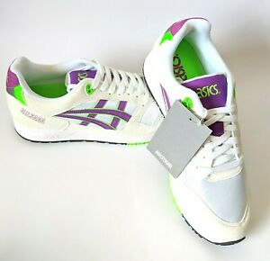 check out 2edac 6ab3b Details about Asics Gel Saga Mens US 9 10 Shoes Tiger White Orchid Sneakers  Runners Gelsaga