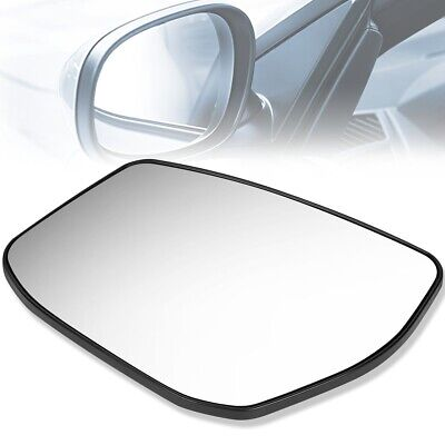 Fits Driver Left Side Replacement Mirror Glass For Nissan Altima 2013-2018