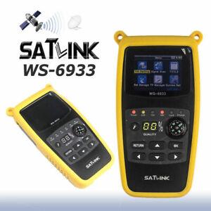 Satlink-ws-6933-Fta-Satellite-ultrarrapida-Compacto-Hd-DVB-S-DVB-S2-Buscador-De-Senal-De