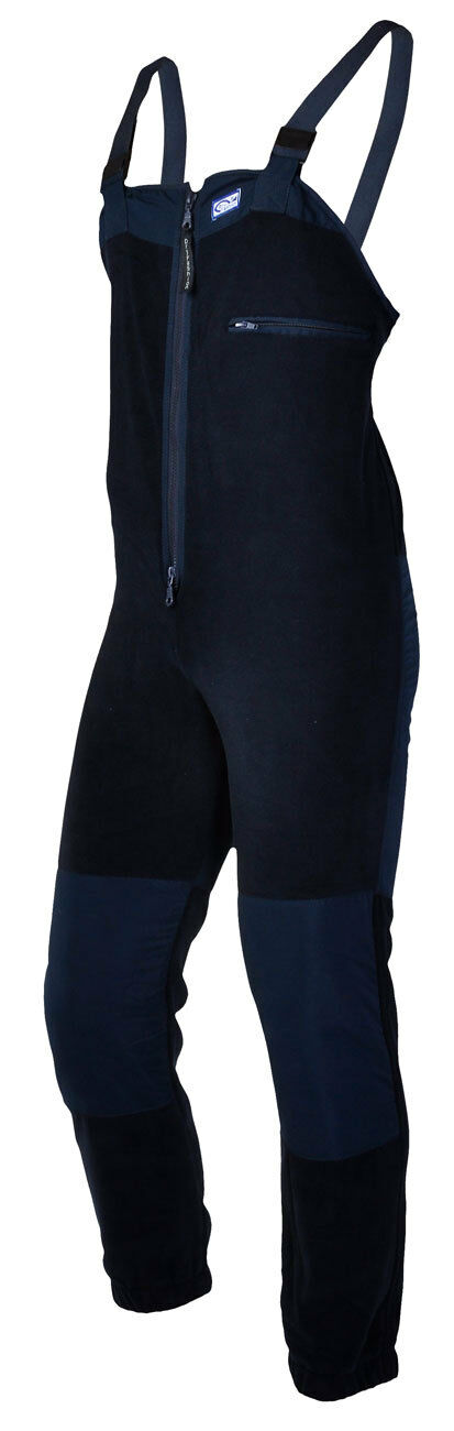 Dry Fashion Latzhose 360gr Antipilling Fleece Segelhose Wassersport leicht navy