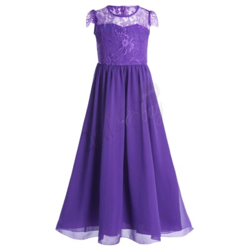 Flower Girl Party Prom Princess Dress Communion Pageant Wedding Formal Dresses