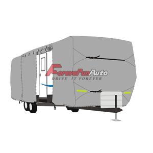 New-Waterproof-RV-Cover-For-Motorhome-Camper-Class-A-20-039-21-039-22-039-W-Zipper