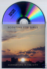SCOUTING FOR GIRLS Summertime In The City 2012 UK 1-trk promo test CD