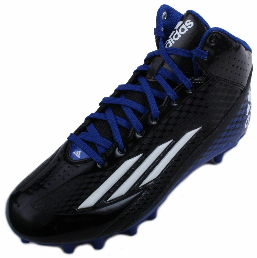 purchase cheap b968e ad5e1 Adidas Filthyspeed Mid Fly Homme NoirRun BlancBleu Football Cleats Taille  Taille Taille 13 553999