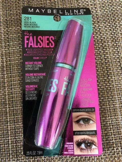 931c14d8188 (Very Black) - Maybelline York Volum' Express Mascara, the Falsies, Very for  sale online | eBay