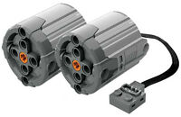 2 Lego Power Functions Xl-motors (technic,truck,axle,gears,pin,car,tank,loader)