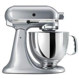 KitchenAid Stand Mixer tilt 5-QT RRK150 All Metal Artisan Tilt 7 Colors
