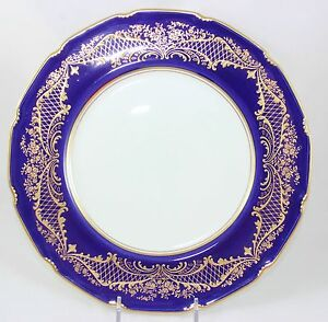 Image is loading GILT-ANTIQUE-DINNER-PLATE-ROYAL-DOULTON-RA9939-RAISED-  sc 1 st  eBay : antique dinner plate - pezcame.com