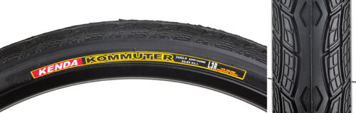 "Sunlite K1045 Komuter Bicycle Tire 26x2.0/"" Black Wire Bead"