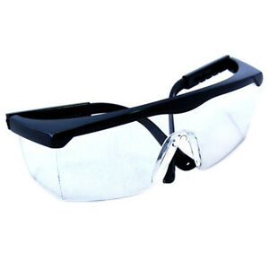 HQRP Chemistry Lab Protective Eye Goggles Safety Transparent Glasses Medical Use