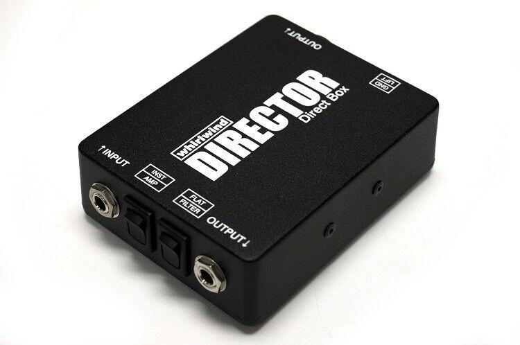 Whirlwind Director  DI Box direct injection box Premium Studio & Stage Unit USA