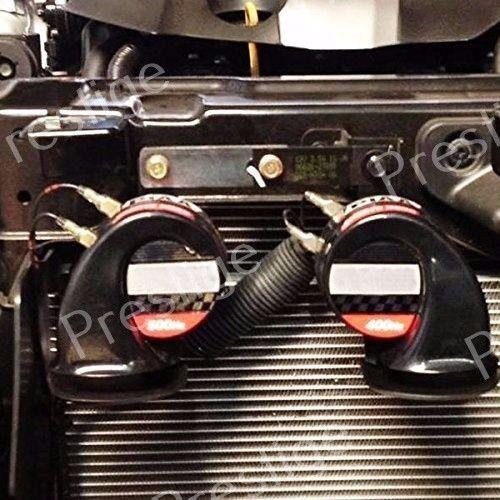 12V Horn Wiring Harness Relay Kit Car Grille Mount Blast Tone Horns for HUMMER