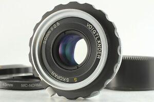 [Mint] Voigtlander S SKOPAR 50mm f/2.5 Objektiv für Nikon S Mount aus Japan #1249