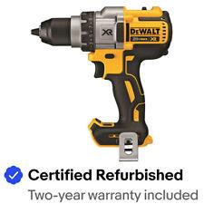 "DEWALT 20V MAX XR 3SPD 1/2"" Drill (Tool Only) DCD991BR Certified Refurbished"
