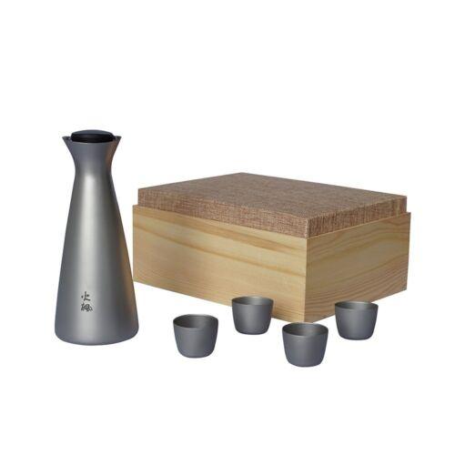 Fire Maple Portable Titanium Flagon Sake Set Camping Wine Pot Flasks with Cups