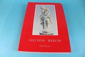 Auktionskatalog-Leo-Spik-Berlin-Uhren-Miniaturen-Fayence-Silber-Graphik-S97