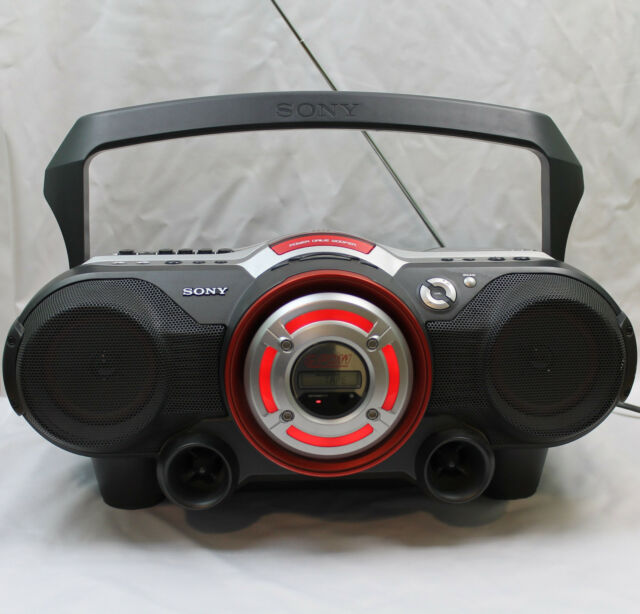 Sony CFD-G500 CD Radio Cassette Player Recorder Line In Boombox Ghetto Blaster