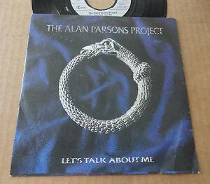 DISQUE-45T-DE-THE-ALAN-PARSONS-PROJECT-034-LET-039-S-TALK-ABOUT-ME-034
