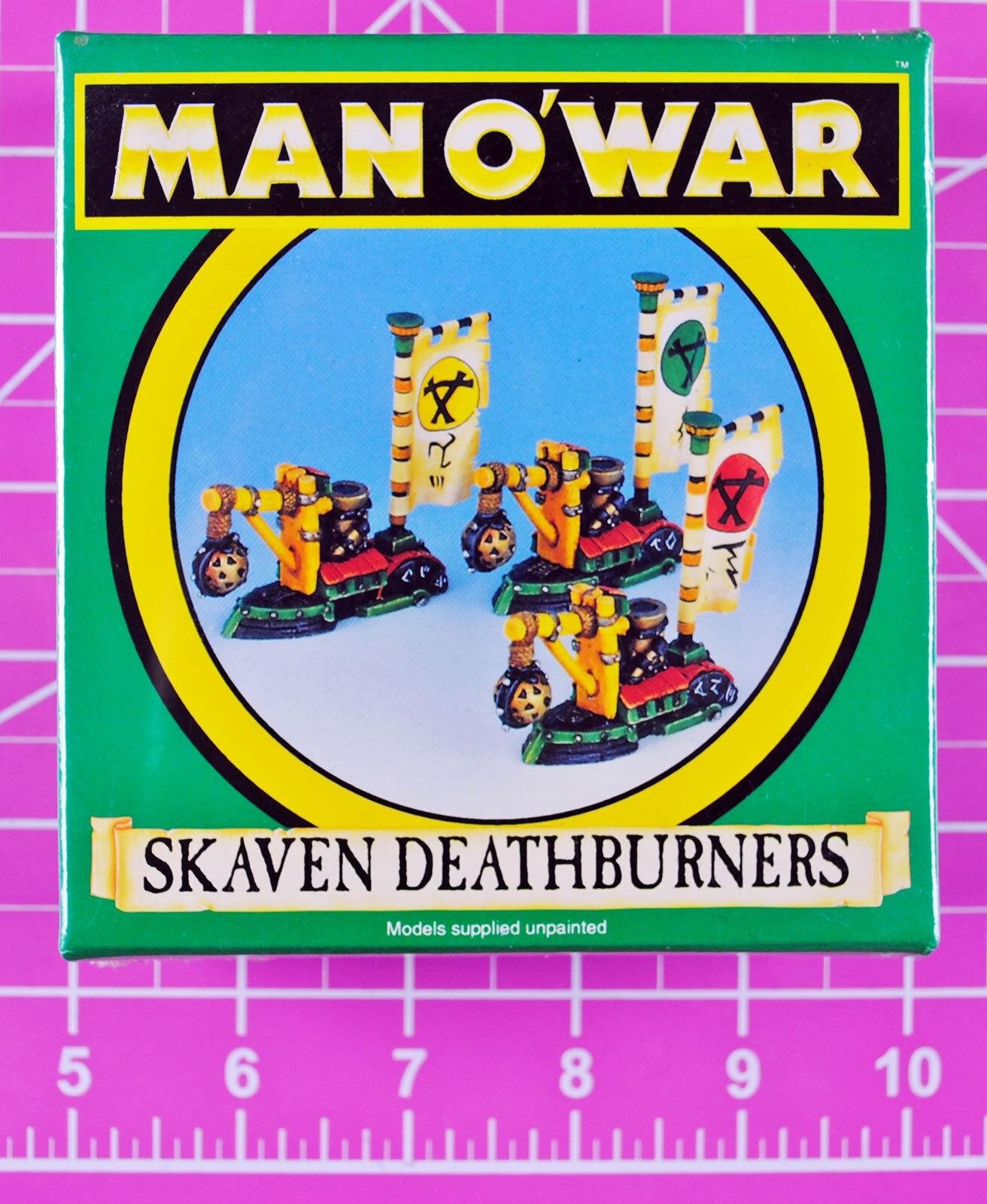 Man O War Skaven Deathburners NIB - Rare & OOP - Games Workshop Manowar Ships