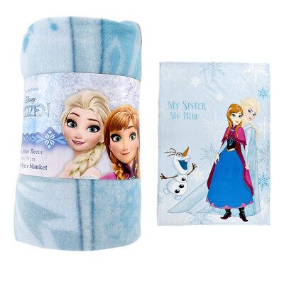 Disney Frozen Fleece Blanket Throw 100x150 cm 2 Designs Graceful /& Gorgeous