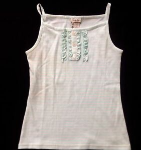 NWT-Matilda-Jane-Hello-Lovely-blue-Honeydew-striped-ruffle-tank-top-shirt-14