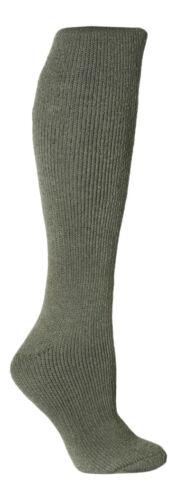 Ladies Extra Long Knee High Winter Warm 2.3 TOG Thermal Socks Heat Holders
