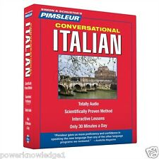 New Pimsleur 8 CD learn to Speak Italian Language (16 Lessons)