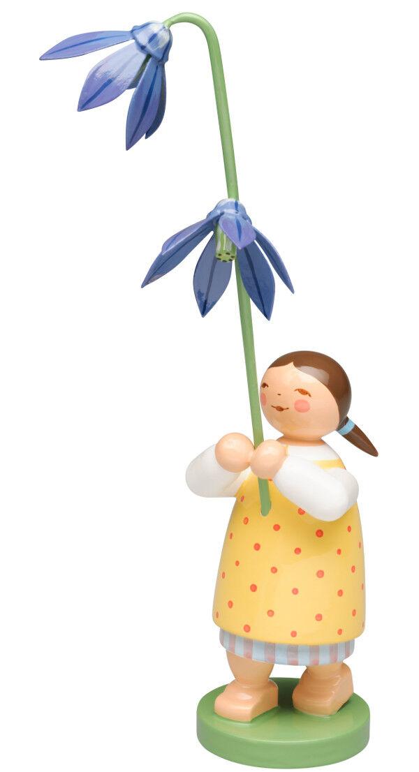 Wendt & audacieux fille avec bleustern Nouveauté 2018 enfant fleur blütenbote 5248 24