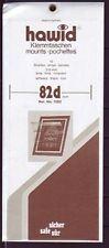 hawid  1082 Streifen 210x82d mm schwarz