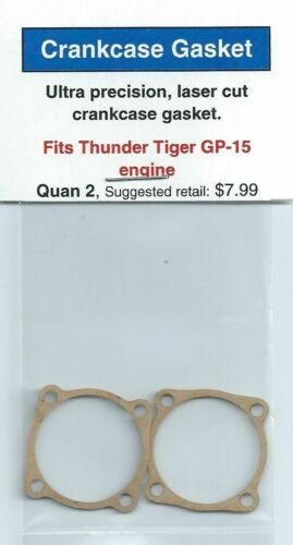 Thunder Tiger GP-15 Carter Moteur Joint 2 Pack New in package