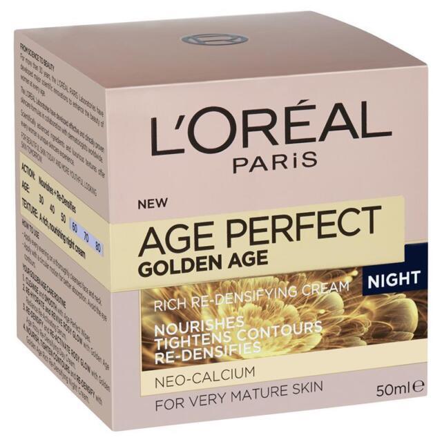Loreal Age Perfect Golden Age Night Cream