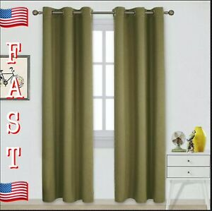 Nicetown Blackout Curtains For Living