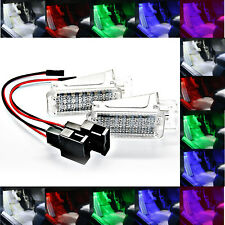 2x TOP LED Modul 18 SMD Fußraumbeleuchtung Seat Leon 5F WEIß