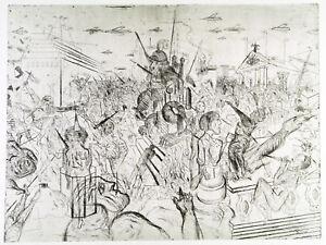 DDR-Kunst-1982-83-Grosse-Radierung-Andreas-DRESS-1943-2019-D-handsigniert