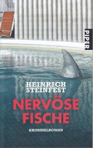 1 von 1 - Nervöse Fische Heinrich Steinfest Kriminalroman Piper 2010 ungelesen