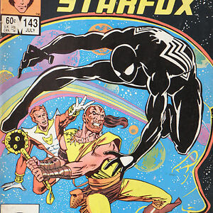 MARVEL-TEAM-UP-143-July-1984-MARVEL-SPIDER-MAN-Starfox-Captain-Marvel