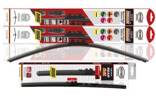"Skoda Octavia Estate 2004-2013 full set windscreen wiper blades 24/""19/""16/"""