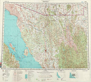image is loading russian soviet military topographic maps hermosillo mexico 1