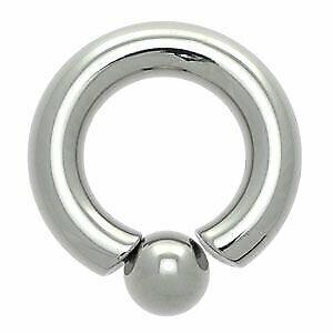 Acero Quirúrgico Bola De Tornillo-en anillo 7mm