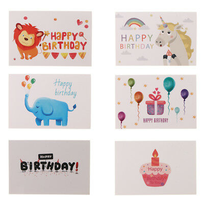24Pcs Happy Birthday Card Bulk For Children Blank Cards With Envelopes