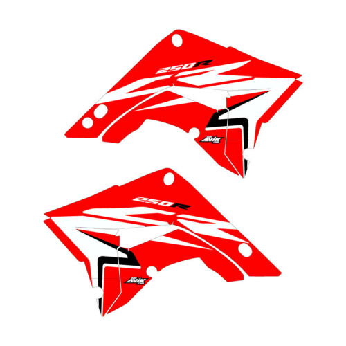 Honda CR250 Polisport Restyle Honda 2002 Shroud graphics Stock-Red FREE SHIP!