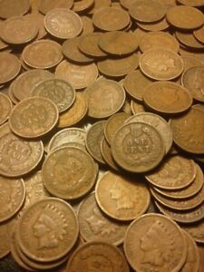 🔥 LARGE COLLECTION OF INDIAN HEAD CENT PENNY COINS 🔥 OLD ESTATE SALE 🔥
