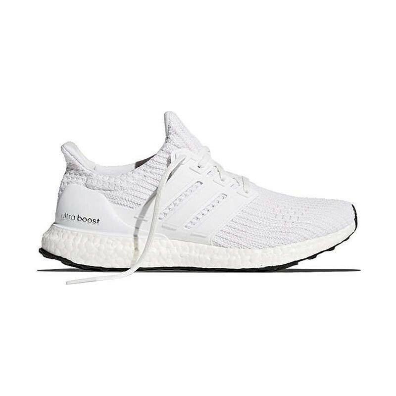 Size 8 Adidas Ultra boost 4.0 White Running shoes Mens DS BB6168 Ultraboost New