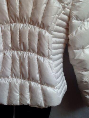 Lommer Skrå Zip Jacket og Sort Cream Xxl rivet 4 up Puff Front W wIXpvz