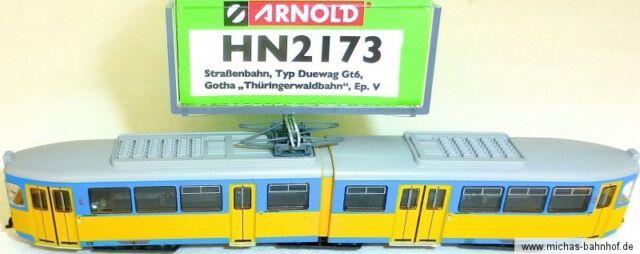 Duewag Gt6 Tram Gotha Dss Ep V Arnold HN2173 N 1:160 HR5 Μ