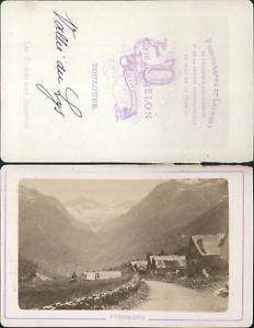 Delon-France-Pyrenees-Vallee-du-Lys-Vintage-CDV-albumen-carte-de-visite-C