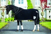 Horseware Rambo Diamante Show Fleece Wicking Prize Rug Luxury Black 5'0-7'3
