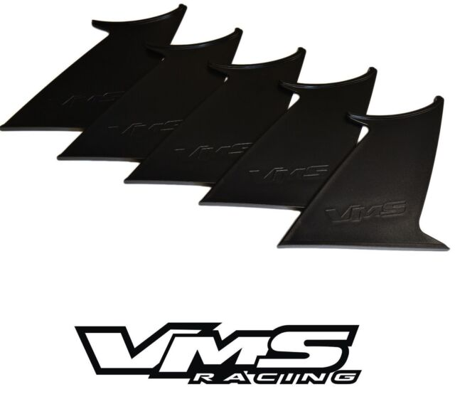VMS RACING REAR WING SPOILER SUPPORT STABILIZER for 15-17 SUBARU WRX STI TWO 2