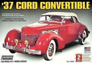 Lindberg 1937 Cord Convertible 72323 Model Kit