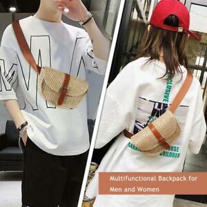 Women-Straw-Waist-Belt-Chest-Bag-Fanny-Pack-Summer-Beach-Handbag-Purse-Pouch